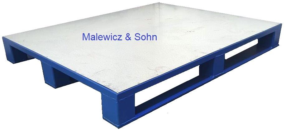Stahlpalette mit glatter Deckfläche 02