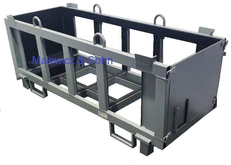 Langgutgestelle steckbare Seitenwand und Gummiauskleidung