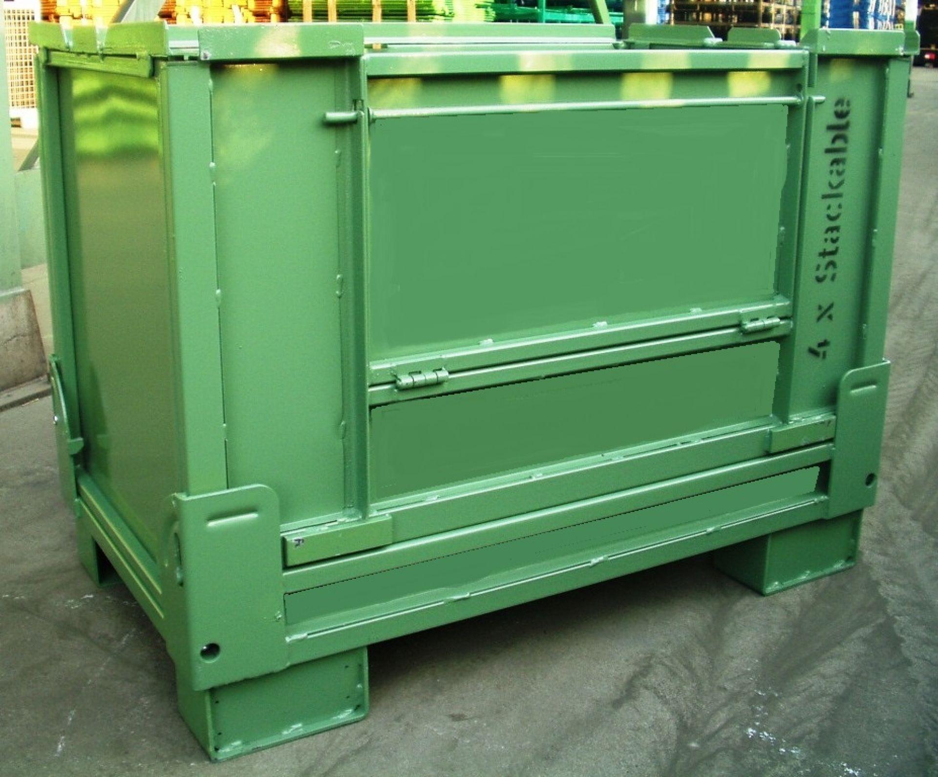 faltbarer Universalbehälter Automotive grün
