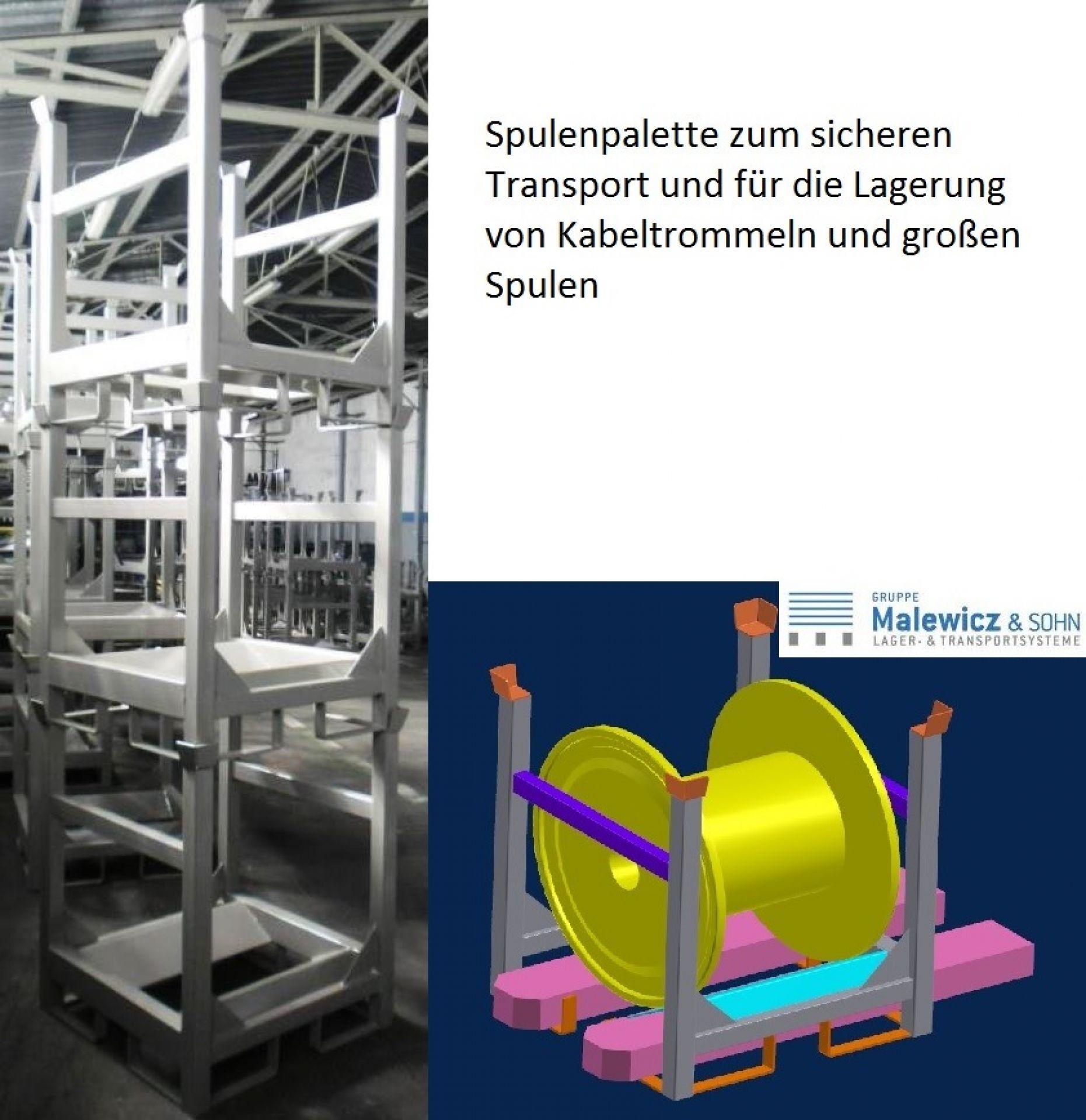 Spulengestelle für Kabeltrommel