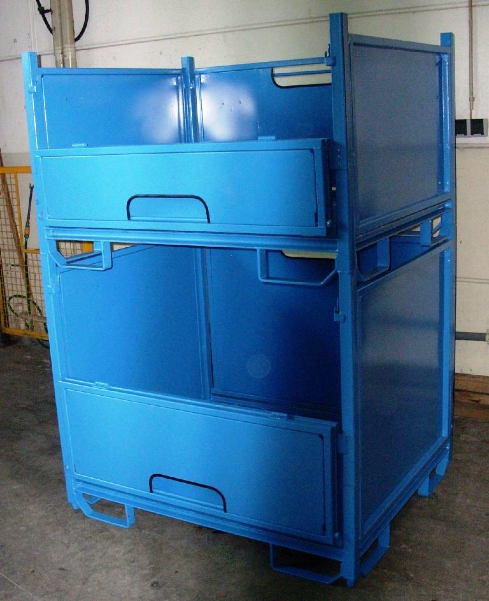 faltbarer Universalbehälter blau