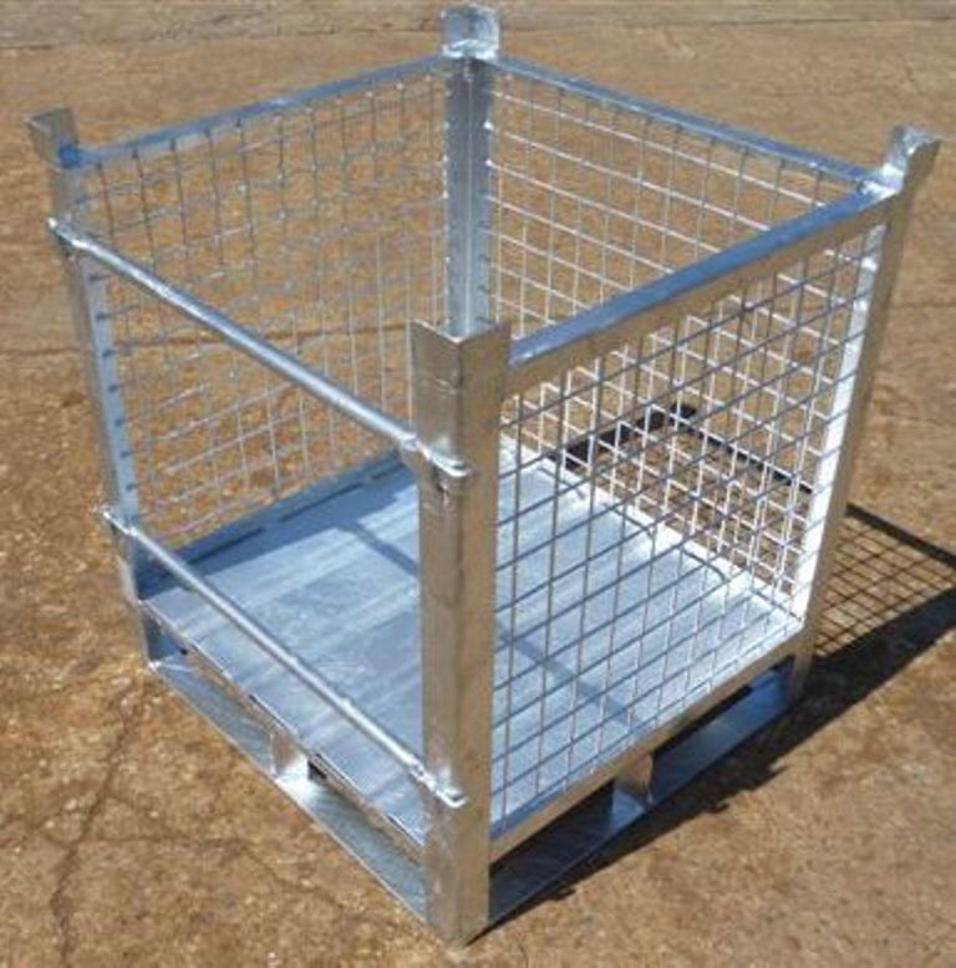Gitterbox für Faßlagerung