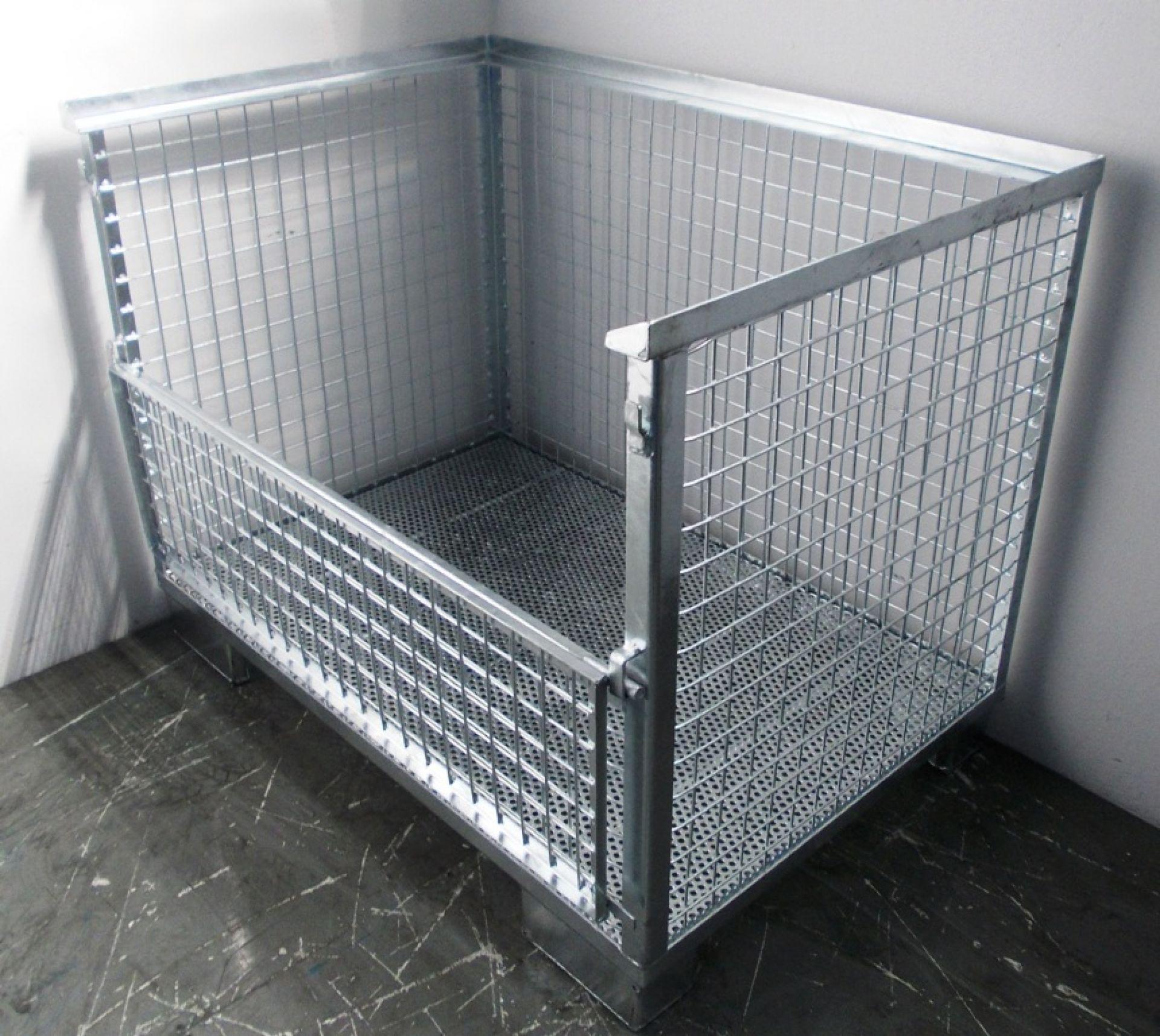 Waschgitterbox für Reinigungsanlage