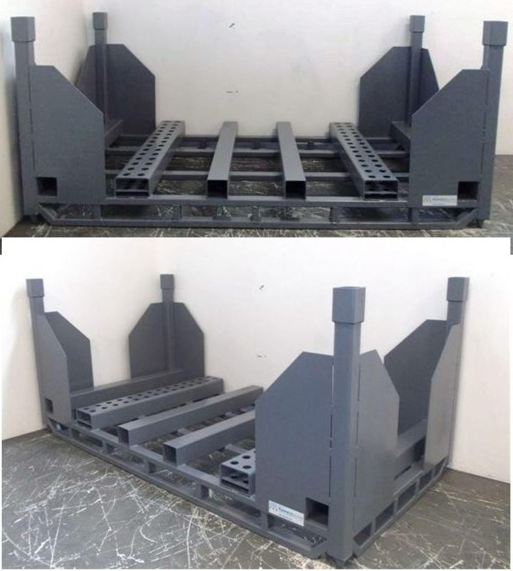 Platinengestell stapelbar bis 4000 kg