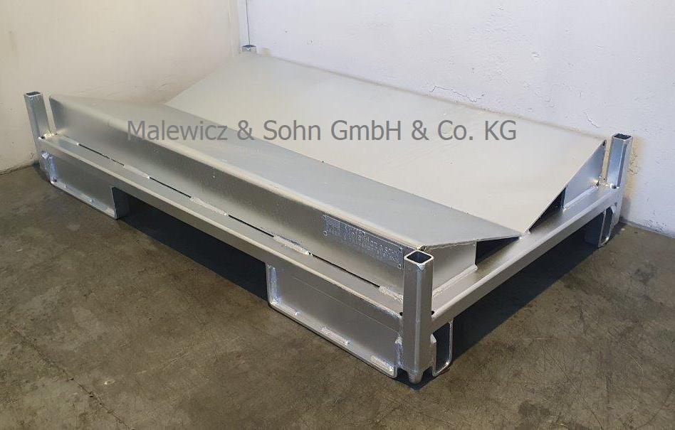 Prismenpalette für Rollen 1200 mm