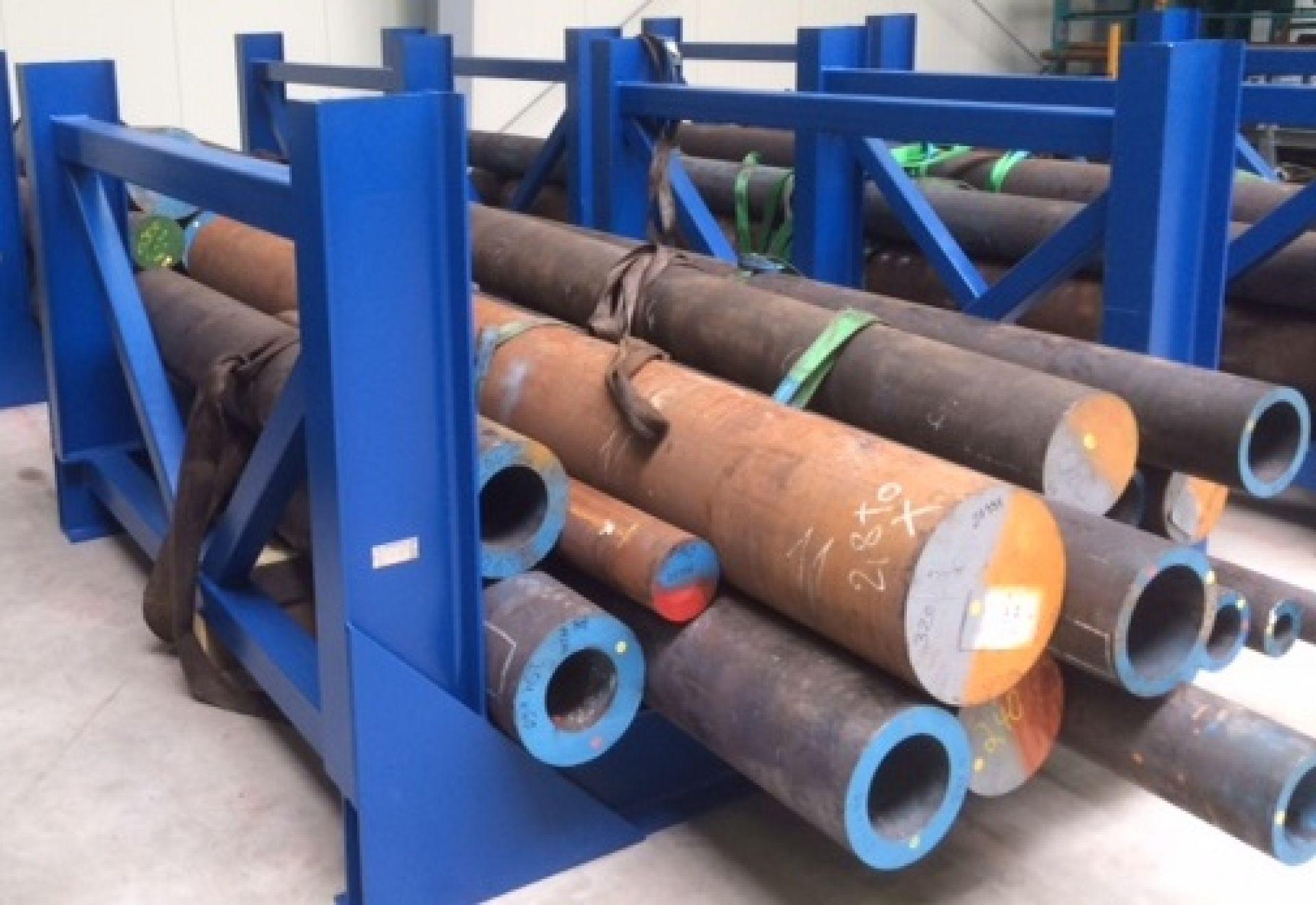 Sonderkonstruktion Lagergestell für 20 Tonnen