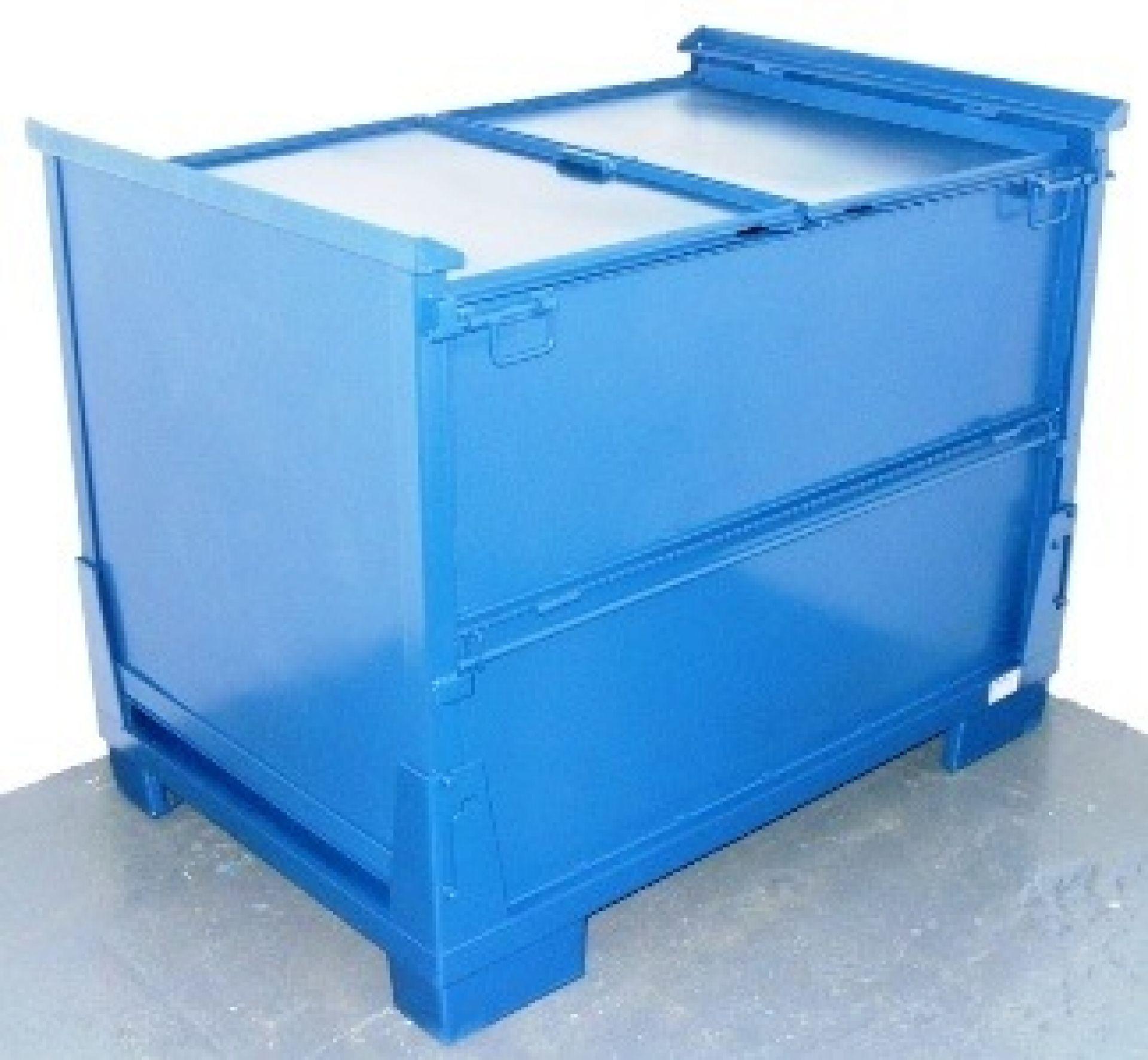 Lagerbehälter mit Deckel faltbar