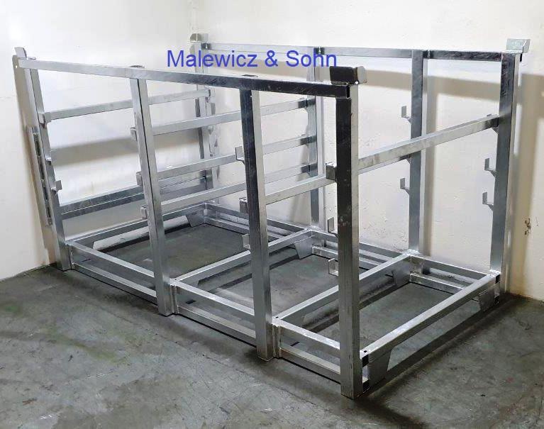 Lager- und Transportgestell für Rolladen