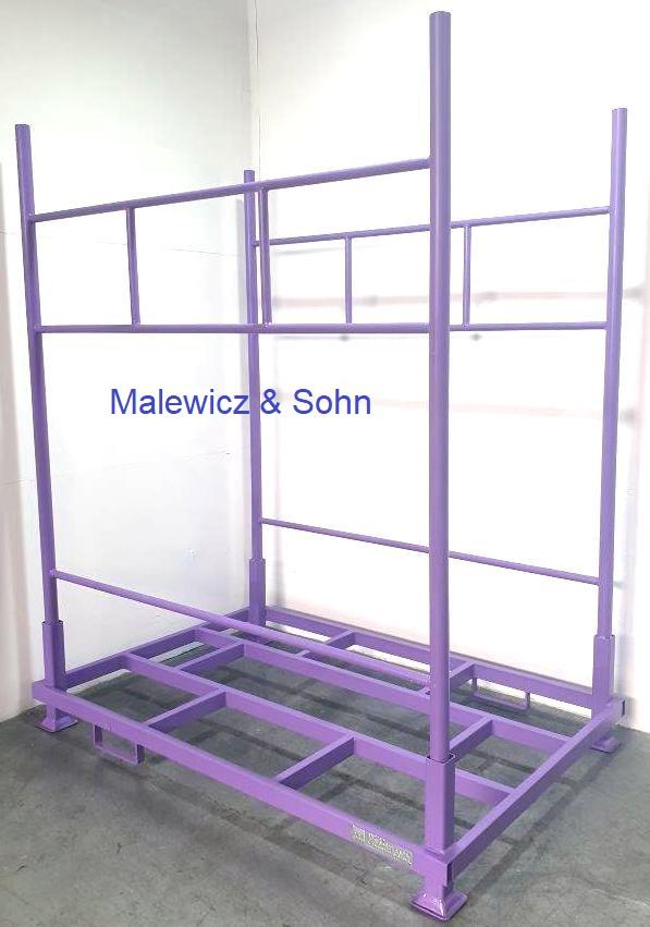 Rungengestell mit Seitenteilen