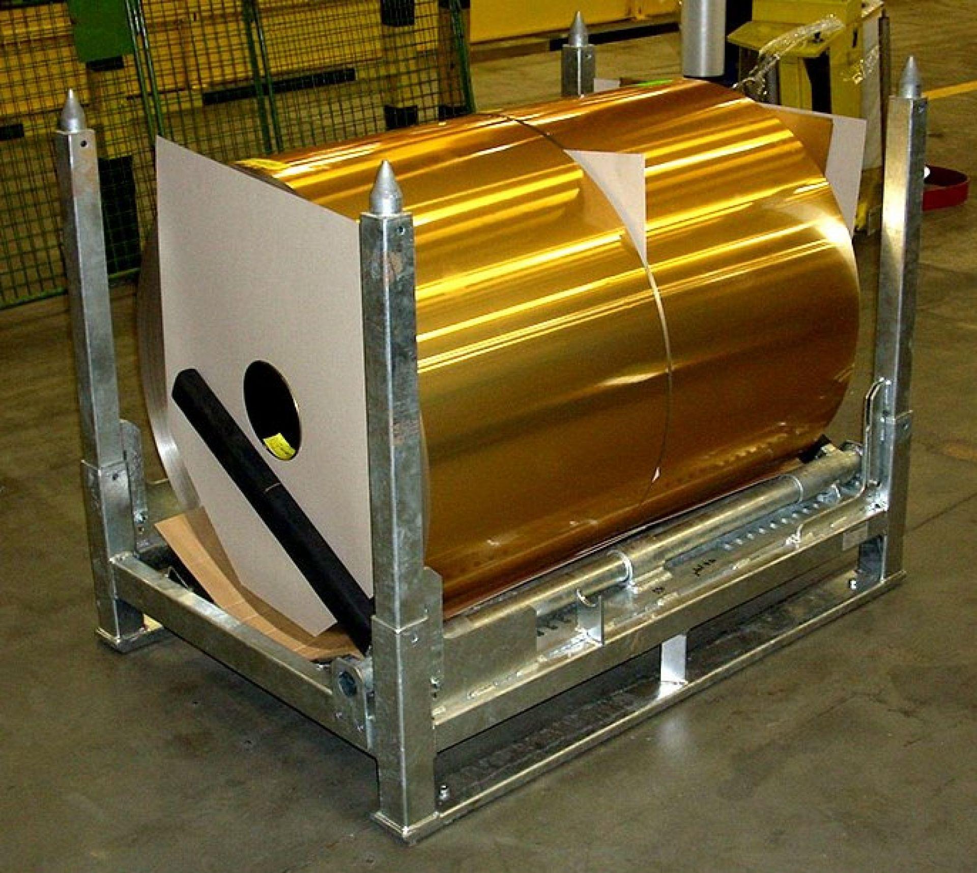Sonderpalette für Aluminiumcoils