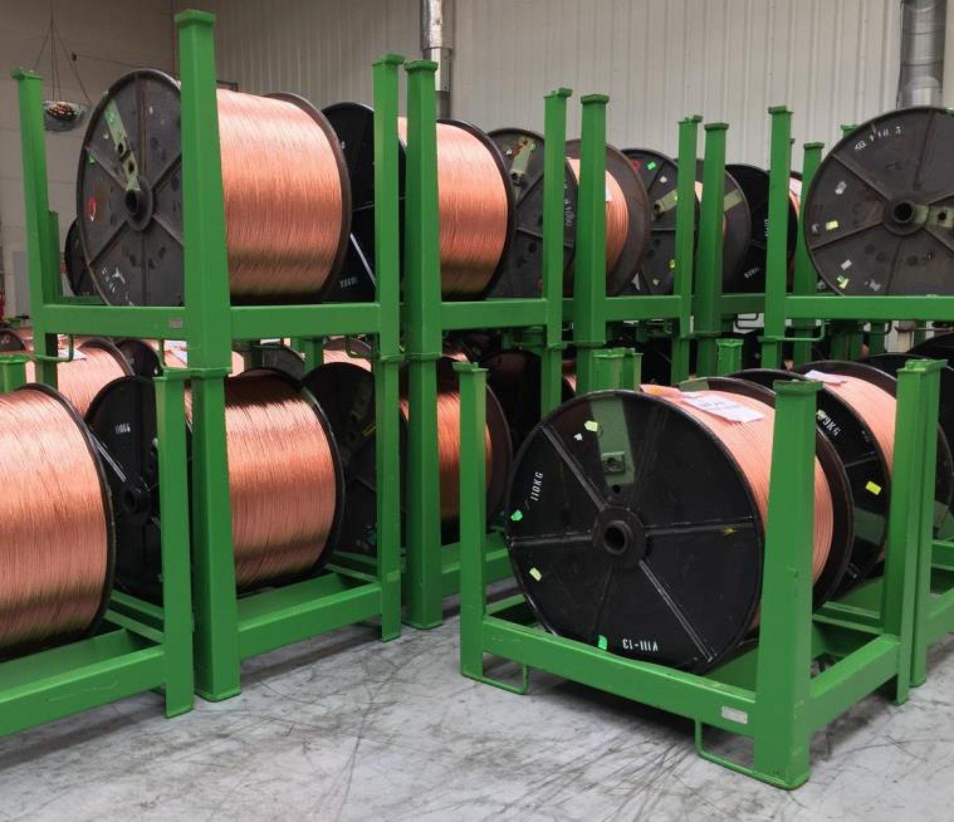 Spulengestelle für Kupferrollen Ø 1000 mm