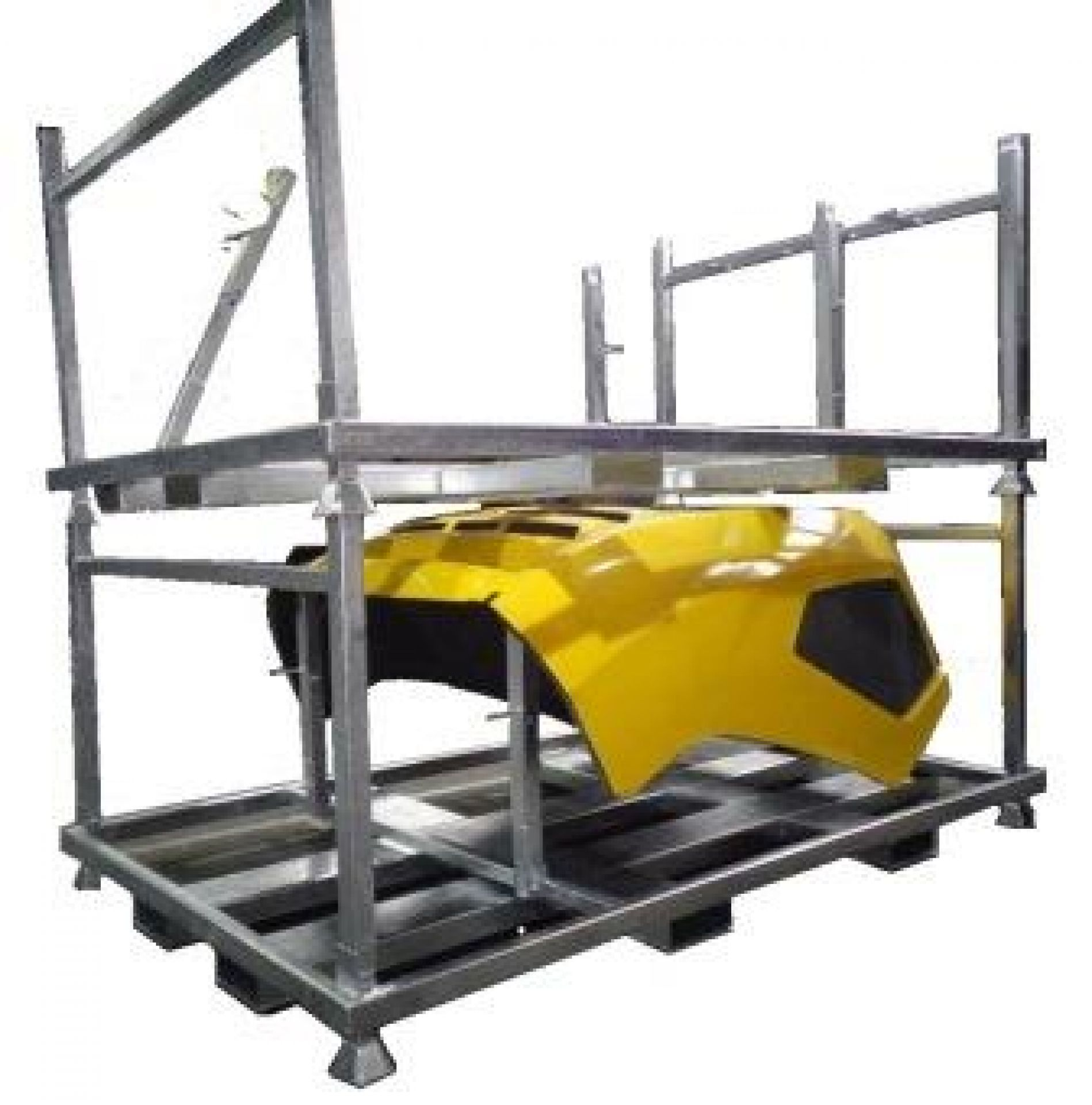 Ladungsträger für Motorhauben