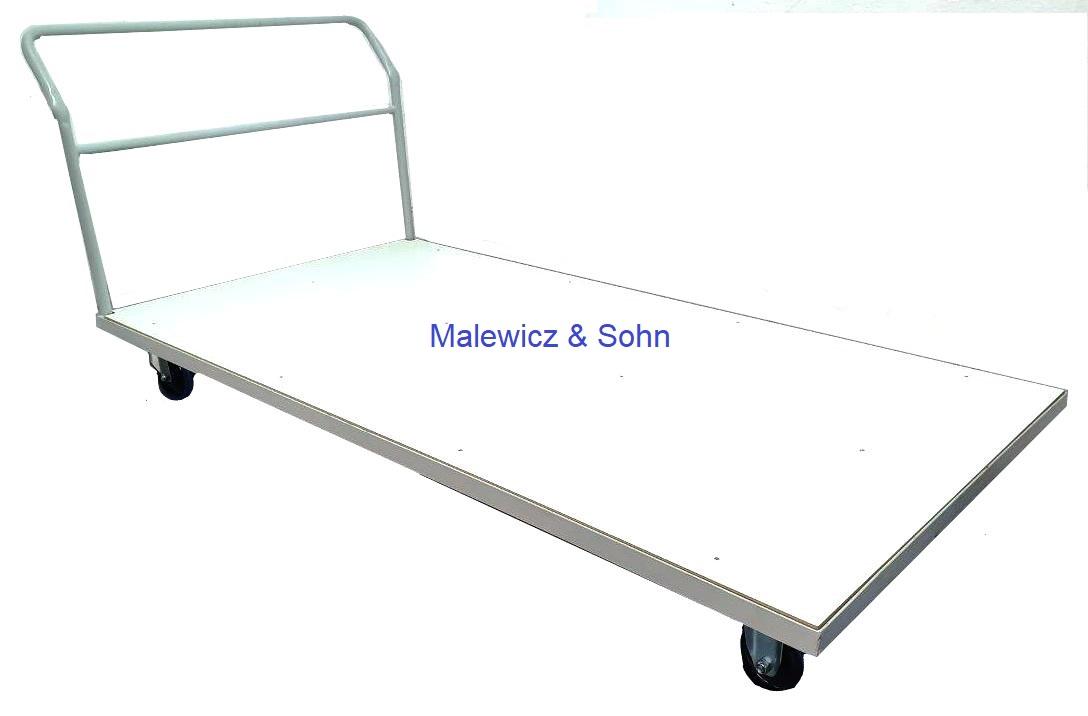 Rollwagen mit MDF-Platte