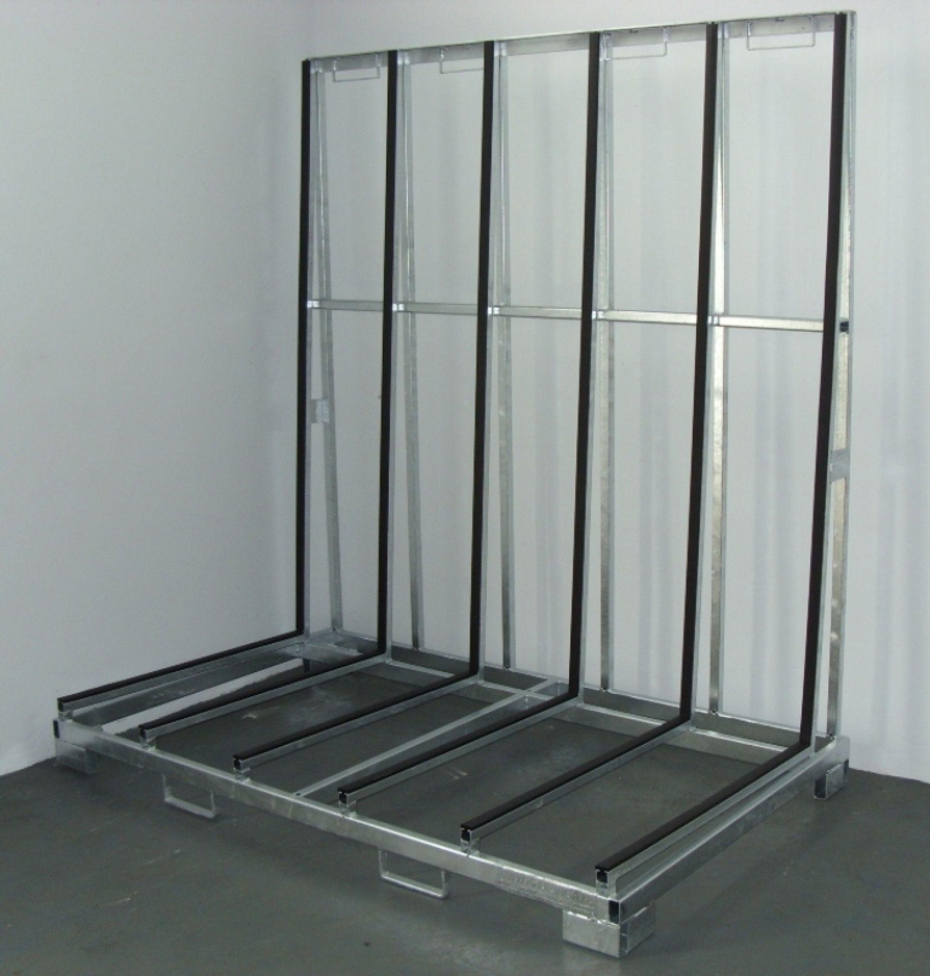 Glasgestelle Typ A für einseitige Beladung