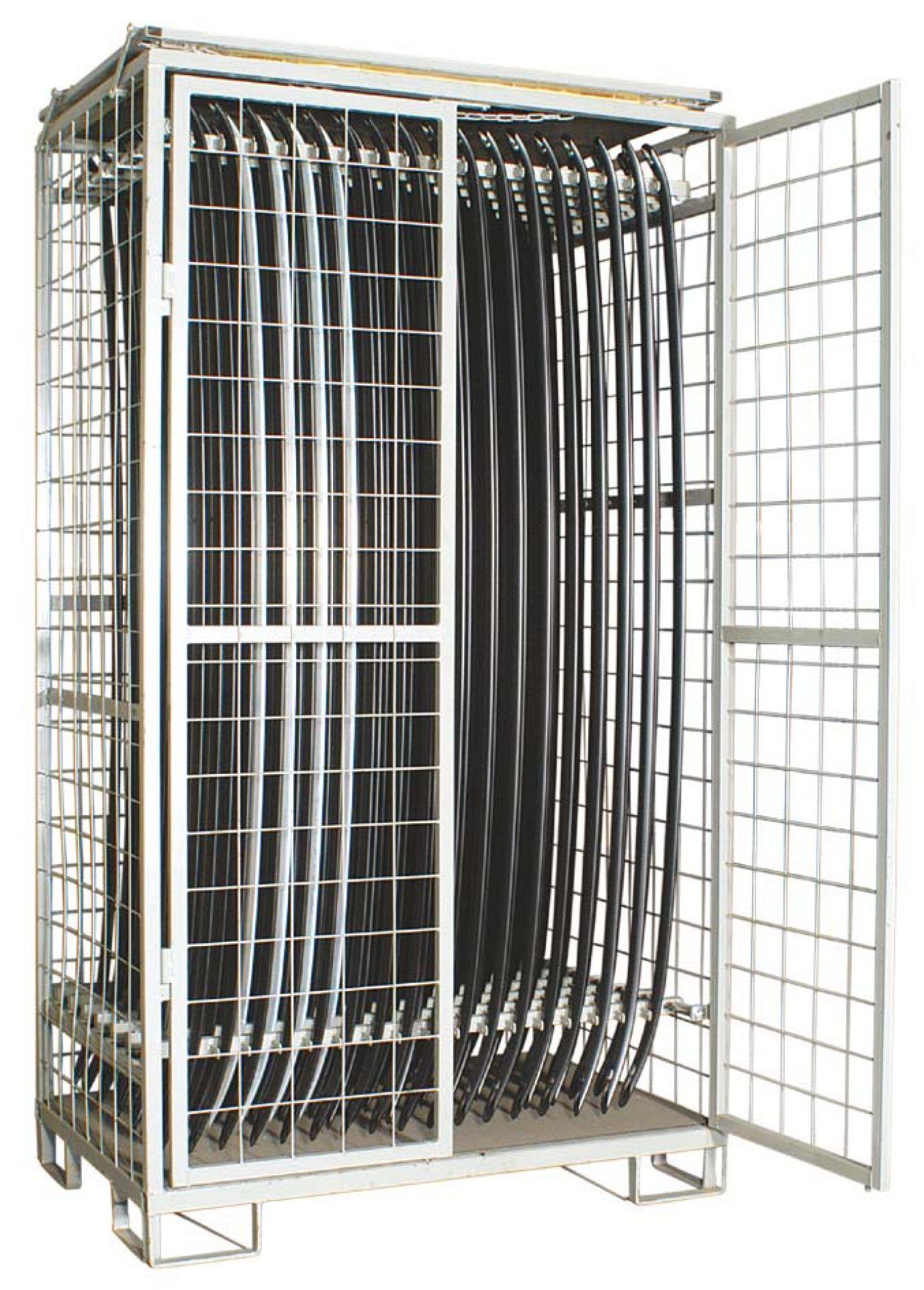 Gitterbehälter für Dachrelinge