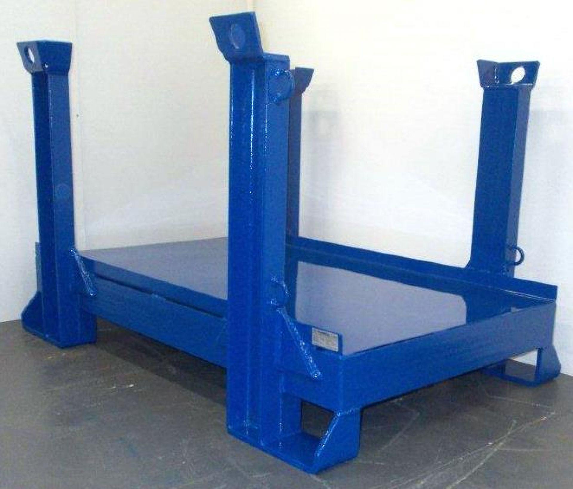 Sonderkonstruktion Schwerlastgestell für 6 Tonnen