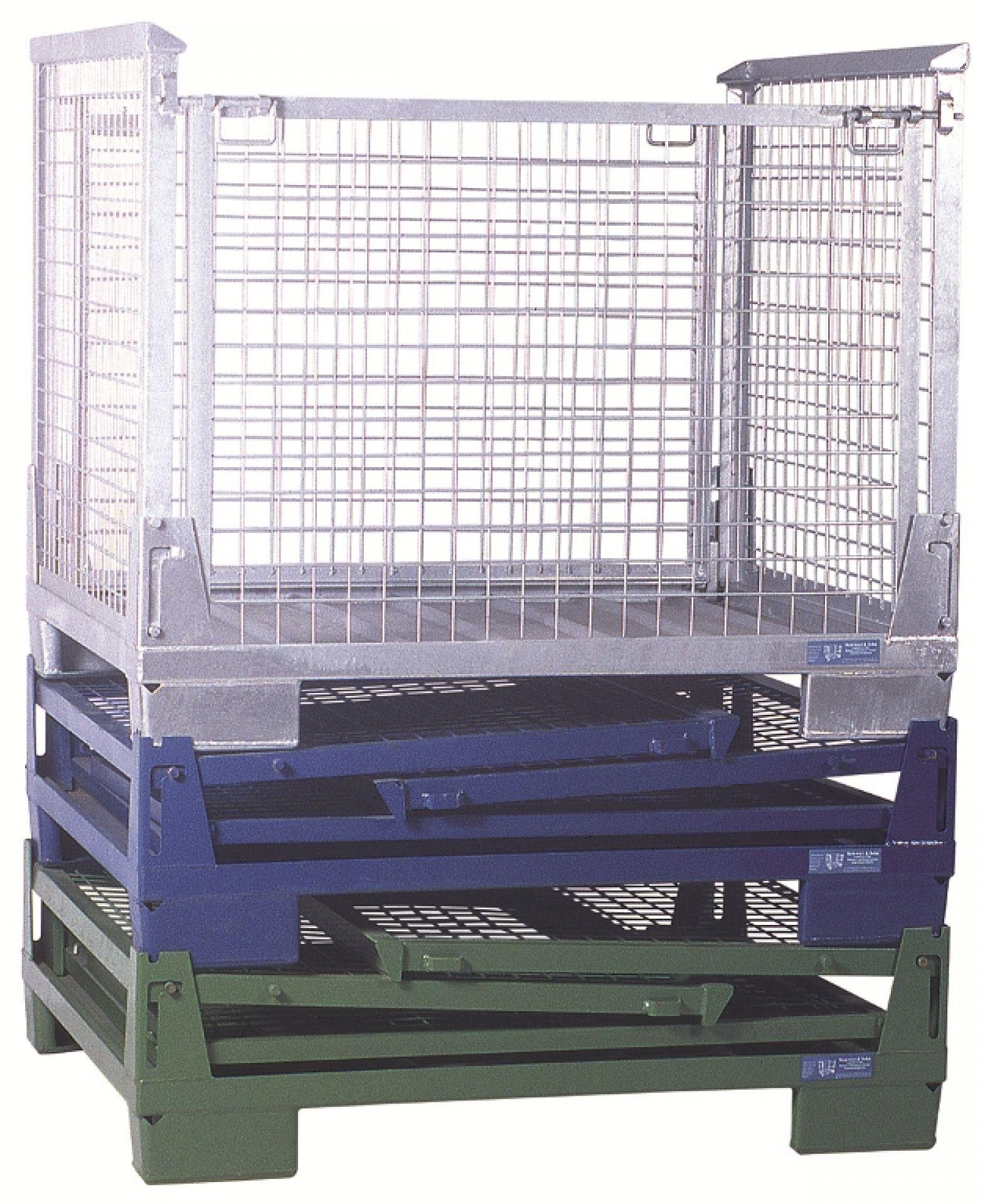 Standard-Gitterboxen faltbare Ausführung