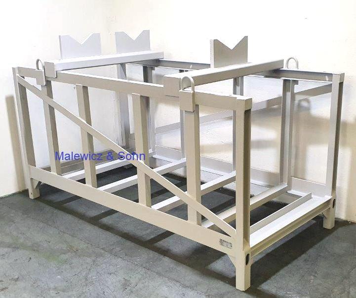 Transportgestell für Zylinder lang