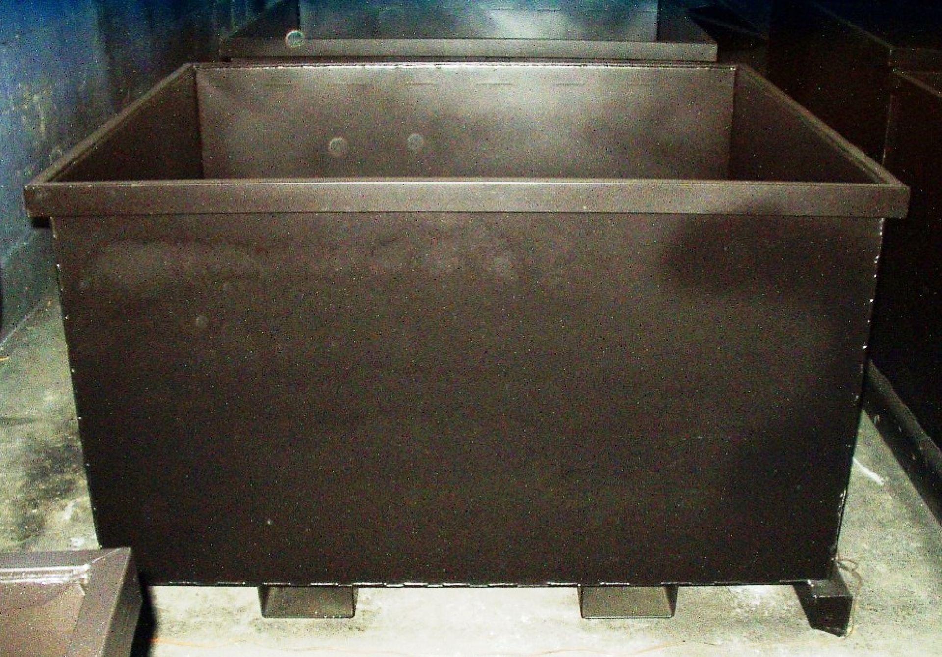 Schrottbehälter für Elektroschrott
