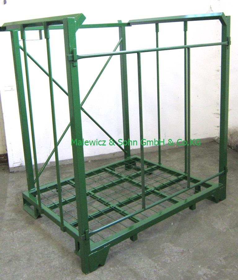 Lagergestell nestbar mit Verstrebung Grundfläche 1500 x 1170