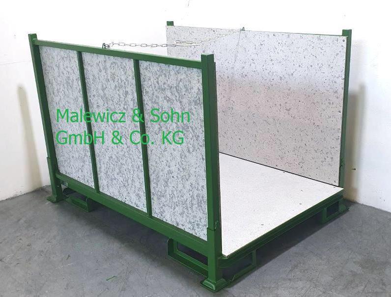 Textilbehälter mit Textilfaserplatten
