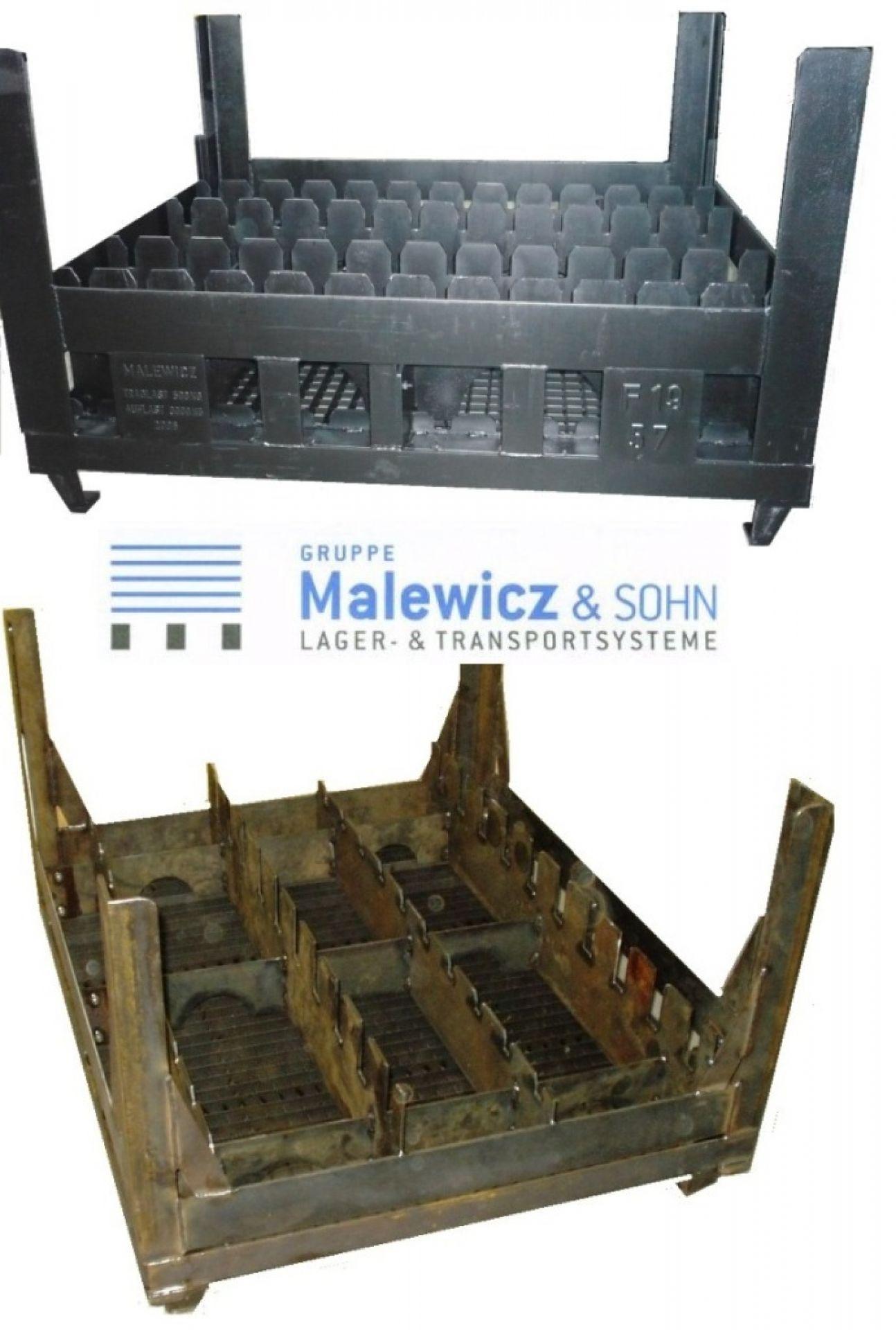 Ladungsträger Transportpalette für Trommelkreuz