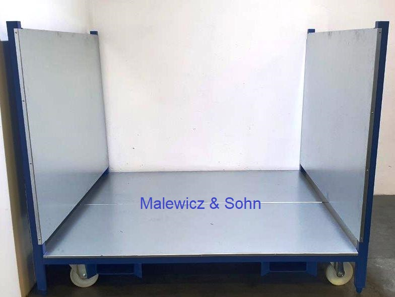Textilrollenbehälter rollbar