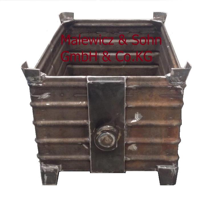 Schwerlastbehälter 3 t kranbar