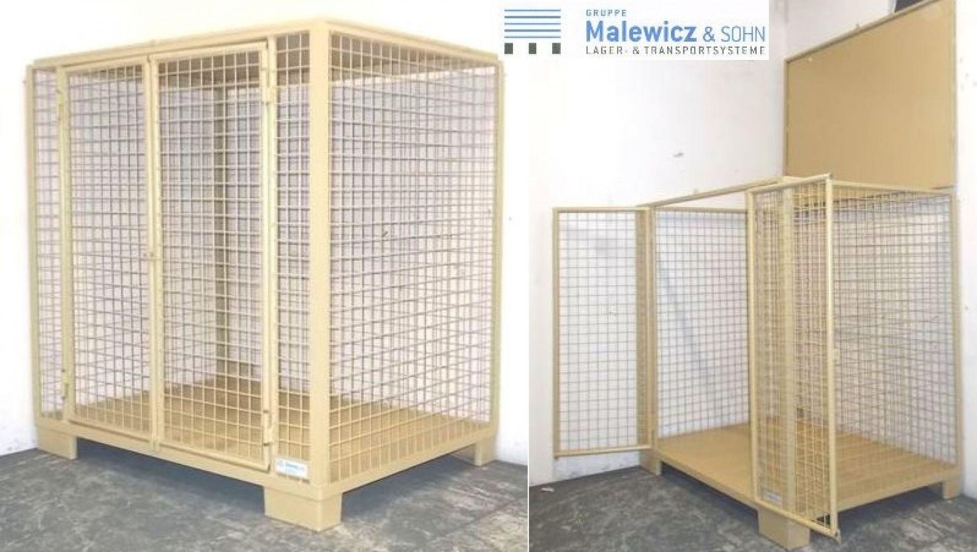 Gitterbehälter Türen und Deckel