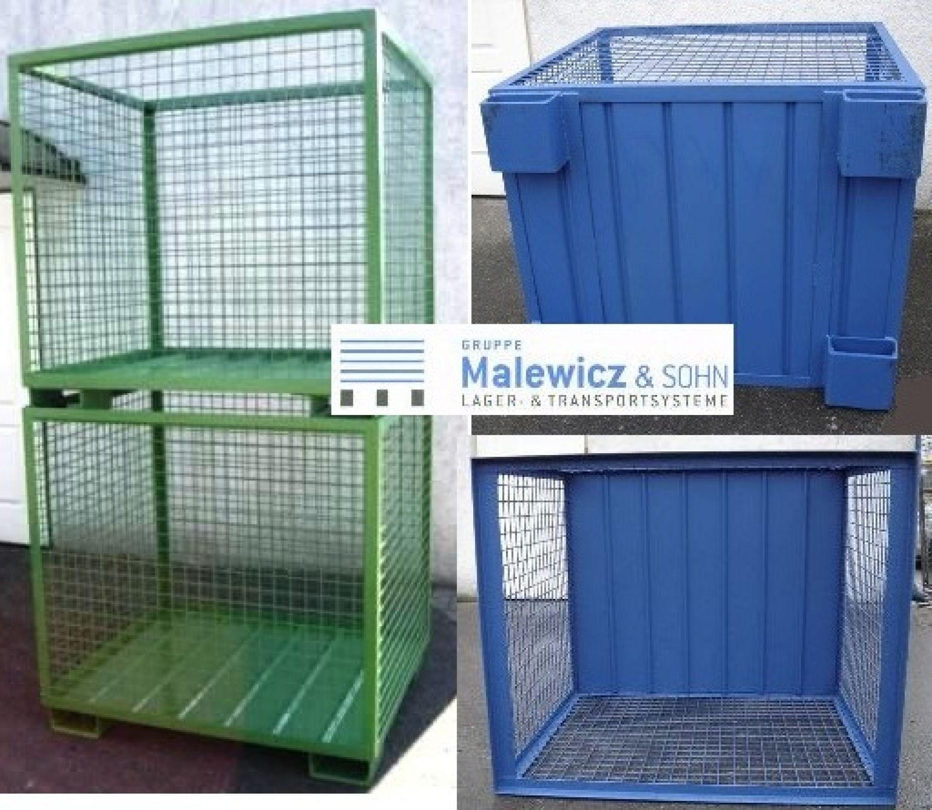 Gitterbox für KU-Recycling