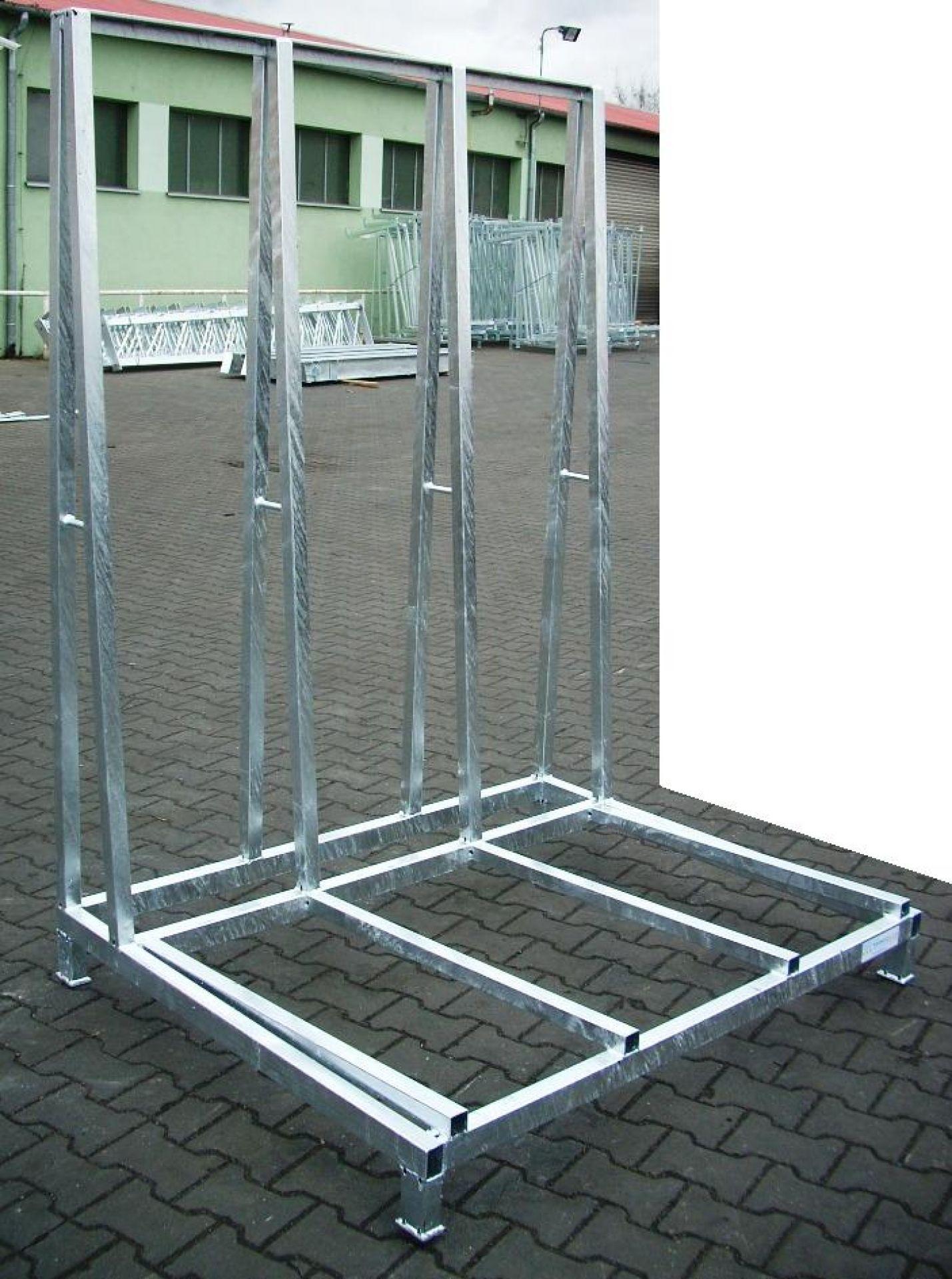 Glasgestell einseitige Ladefläche