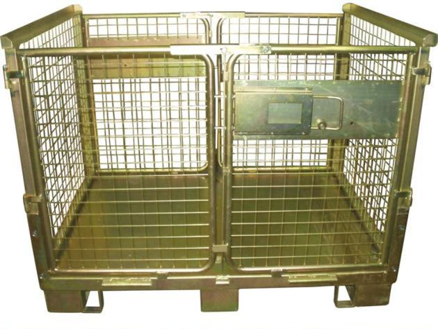 Gitterbehälter faltbar für Hochregallager